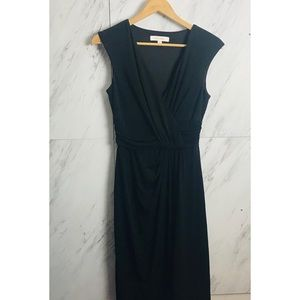Ellen Tracy Matte Jersey Black Dress In Size XS
